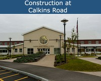Construction at Calkins Road